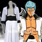 Bleach Grimmjow Jaegerjaquez Cosplay Costume Full Set FREE P&P