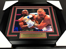 FLOYD MAYWEATHER JR CONOR MCGREGOR BOXING FRAMED 8X10 PHOTO #1