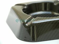 REAL, 100% Carbon Fibre Ashtray perfect Gift for the perfect Gent - CIGAR Tube