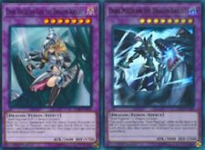 Dark Magician the Dragon Knight Ultra+ Dark Magician Girl the Dragon Knight LEDD
