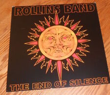 Rollins Band The End of Silence Poster 2-Sided Flat Square Promo 12x12