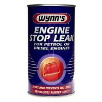 Engine Stop Leak 325ml Oil Seals Lube Lubricant Maitenance - Wynns