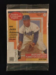 1997 Sports Collectors Digest magazine / SCD / Jackie Robinson / SIP