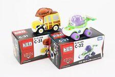 Tomica Takara Tomy Disney PIXAR CARS C31 C32 Diecast Toy story WOODY BUZZ 2X SET
