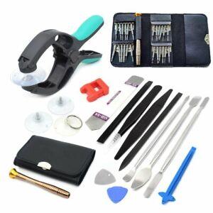 herramienta para reparar celulares alicate pinzas abrir separar pantallas LCD