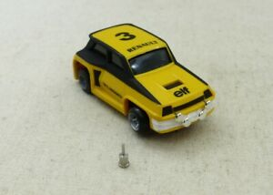 TCR Renault 5 Turbo n°3 ho slot car new pour circuits Tyco Tomy AFX Faller etc..