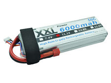 XXL RC Bateria 6000mAh 3S 11.1v 50C RC Lipo Battery For Drone FPV Airplane Car