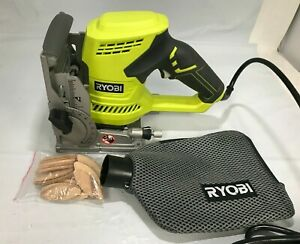 Ryobi JM83k 6 Amp AC Biscuit Joiner with Dust Collector, LN
