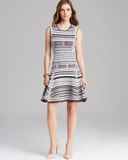 NWT DIANE VON FURSTENBERG Eleanor Fit and Flare PRINTED DRESS Size P (0-2) $498