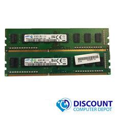 8GB KIT 2 x 4GB DDR3 1600 MHz PC3 12800u Intel Desktop DIMM Memory RAM 240 Pin