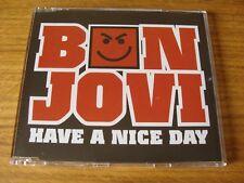 CD Single: Bon Jovi : Have A Nice Day