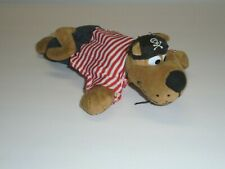 "Scooby Doo Pirate Plush Toy Stuffed Animal Collectible 9"" Long"
