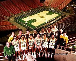 1978 - 79 NBA Champion Seattle SuperSonics Color Team Picture 8 X 10 Photo Pic