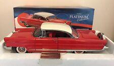 Rare Sunstar 1/18 Scale - 4651- 1956 Lincoln Premiere Hard Top Coupe Red /white