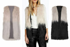 Unbranded Waist Length Faux Fur Coats & Jackets for Women