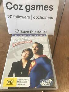 LOIS & CLARK THE NEW ADVENTURES OF SUPERMAN Complete Season 3 DVD Oz Release