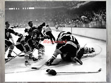 NHL Game 7 Boston Bruins Bobby Orr After THE GOAL Celebration  8 X 10 Photo Pic