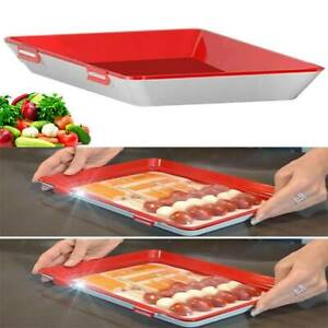 Creative Healthy Food Preservation Tray Kitchen Tools Storage Container Set UK
