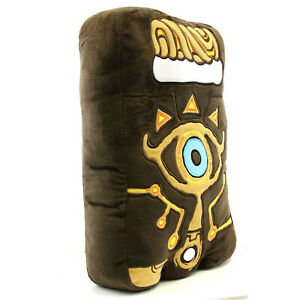 "SHEIKAH SLATE - The Legend of Zelda 14"" Pillow (San-Ei 1640) New Official Plush"