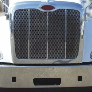 Peterbilt 384 386 Stainless Steel Grille  # 13776