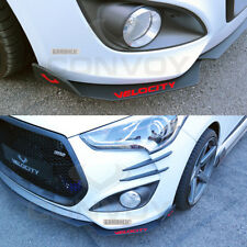 Velocity Front Cup Wing Splitters (2 pcs) for Hyundai Veloster Turbo  PAINTED