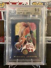 1995-96 Skybox E-XL Michael Jordan #10 BLUE PARALLEL BGS 9.5 GEM MINT Bulls HOF