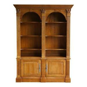 Bookcase ~ Library Cabinet ~ Legacy Double Arch Bookcase by Ethan Allen