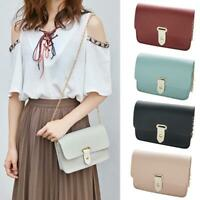 Women mini Shoulder Bag PU Leather Envelope Crossbody Messenger Handbag