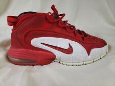 Men's Nike Air Max Penny 1 US 10.5 University Red Orlando 685153-600 Flight A3