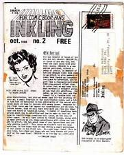 1968 fanzine FOR COMIC BOOK FANS: INKLING #2 - Mark Evanier column