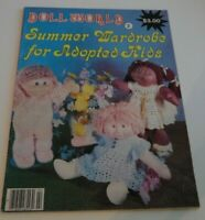 Doll World Summer Wardrobe for Adopted Kids~Complete Uncut~Excellent Condition!
