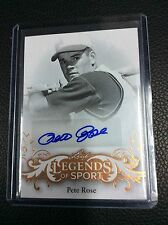 2015 Leaf Legends of Sport Pete Rose Base auto Autograph SP