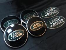 OEM LAND ROVER FREELANDER 1 WHEEL CENTRE CAP GRILL BACK BADGE KIT BLACK-GREEN