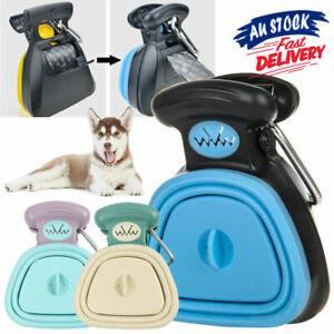 Foldable Pick Up Cleaner Poop Scoop Cat Dog Pet Pooper ScooperL Waste Removal AU