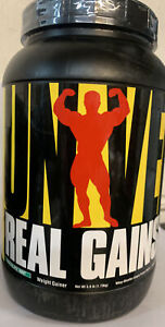Universal Nutrition Real Gains Chocolate Mint Protein Powder 3.81 lbs- BB12/2021