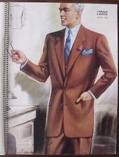 ▬► 1949 MODE L'HOMME Maître Tailleur avec PLANCHES  Éditions DARROUX