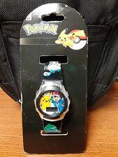 Pokemon Kids'  Digital Display Quartz Black Watch POK3018
