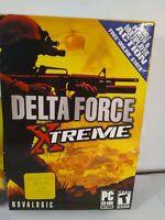 Delta Force Xtreme PC CD-ROM Computer Warfare Video Game FAST Shipping WAR HA