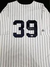 DARRYL STRAWBERRY Signed Majestic NEW YORK Yankees Jersey ~ Beckett BAS COA