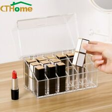 Transparent 9/18 Grids Make Up Drawer Organizer Lipstick Storage Cosmetic Boxes