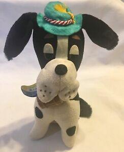 "VINTAGE R.DAKIN DREAM PETS ""Bernard"" Dog ALL TAGS Born In 1965 Original #736"