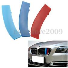 M Style Grilles Buckle Cover For BMW 3-Series 11-Bar Front Kidney Grille  /