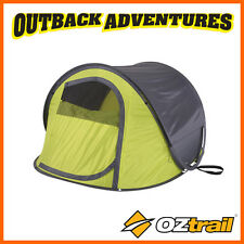 OZTRAIL BLITZ 3 POP UP DOME TENT 3 PERSON INSTANT QUICK PITCH HIKING TENT