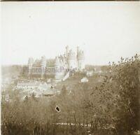 Château Da Pierrefonds c1910 Foto Stereo Placca Da Lente VR11x
