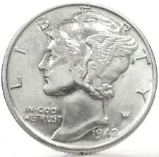 United States-USA (Mercury 1 DIME) 1942-UNC.