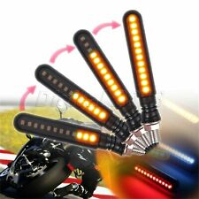 2PCS Motorcycle Turn Signals LED Flashing Lights Stop Signals Tail Flasher