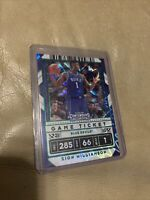 ZION WILLIAMSON 2020 PANINI CONTENDERS-GREEN PARALLEL CRACKED ICE-GAME TICKET