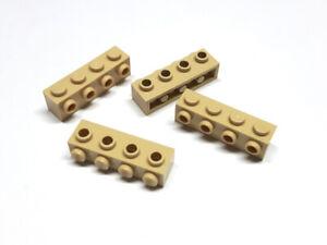 Steine Bausteine 2456 /& NEU ! xxx 4 Stück tan beige 2x6 Grundbausteine