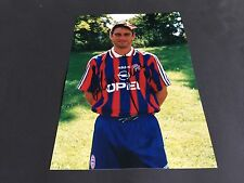 OLIVER KREUZER BAYERN MÜNCHEN signed Photo 20x29 In-Person