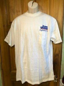 vintage Team Strange Engineering  Englishtown 1984 Pocket  T-Shirt Chi Town